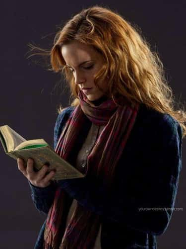 Hermione Granger is listed (or ranked) 1 on the list The Most Beloved Fictional Bookworms