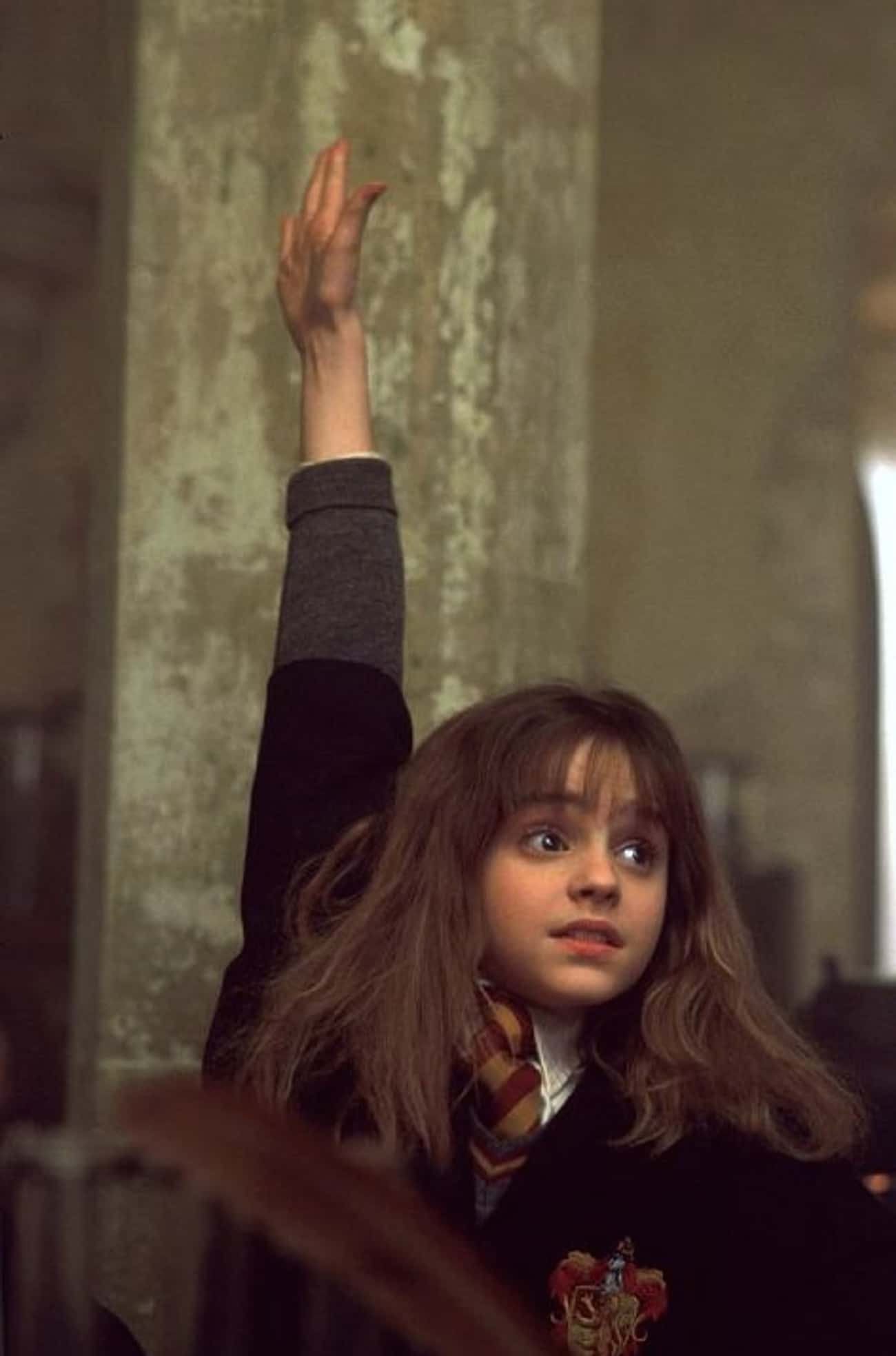 Hermione Granger is listed (or ranked) 3 on the list The Greatest Bangs in Movie History