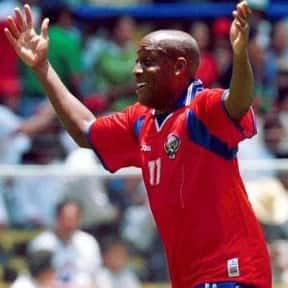 Hernán Medford is listed (or ranked) 10 on the list The Best Soccer Players from Costa Rica