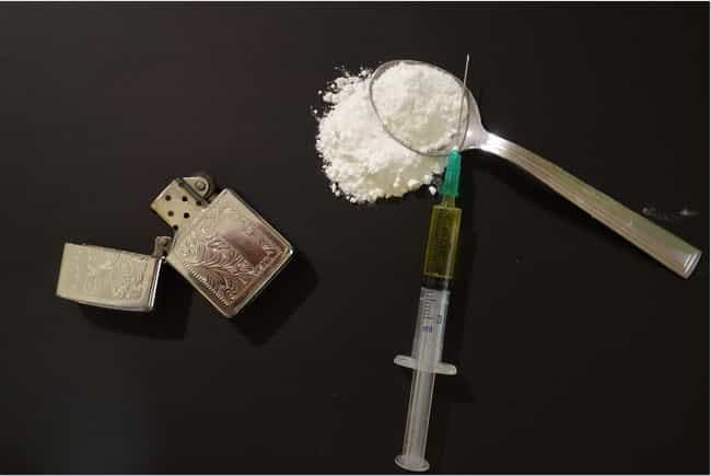 Heroin is listed (or ranked) 2 on the list How Long Do Drugs Stay In Your System?