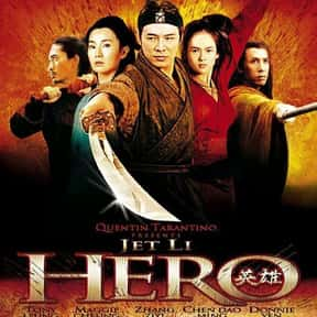 Hero is listed (or ranked) 2 on the list The Best Jet Li Movies