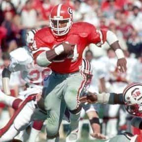 Herschel Walker is listed (or ranked) 1 on the list The Best University of Georgia Football Players of All Time