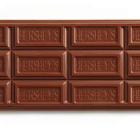 Hershey bar is listed (or ranked) 16 on the list The Best Movie Theater Snacks