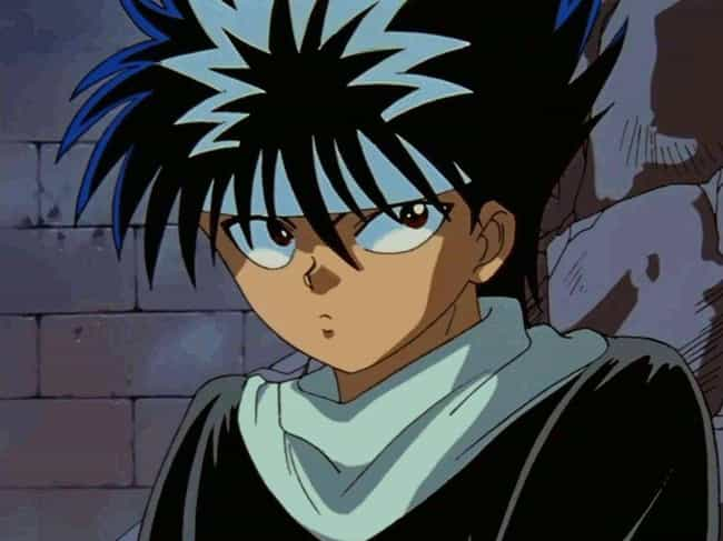 Hiei is listed (or ranked) 4 on the list 15 Times Anime Villains Switched Sides and Turned Good