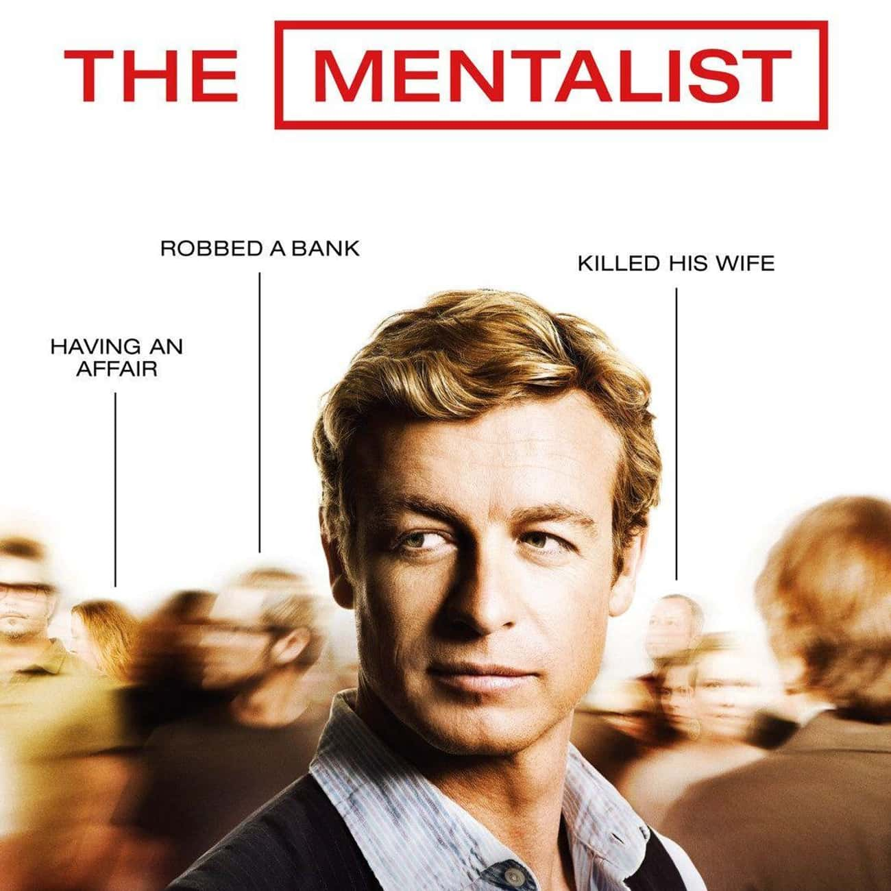 The Mentalist is listed (or ranked) 3 on the list What To Watch If You Love 'Monk'