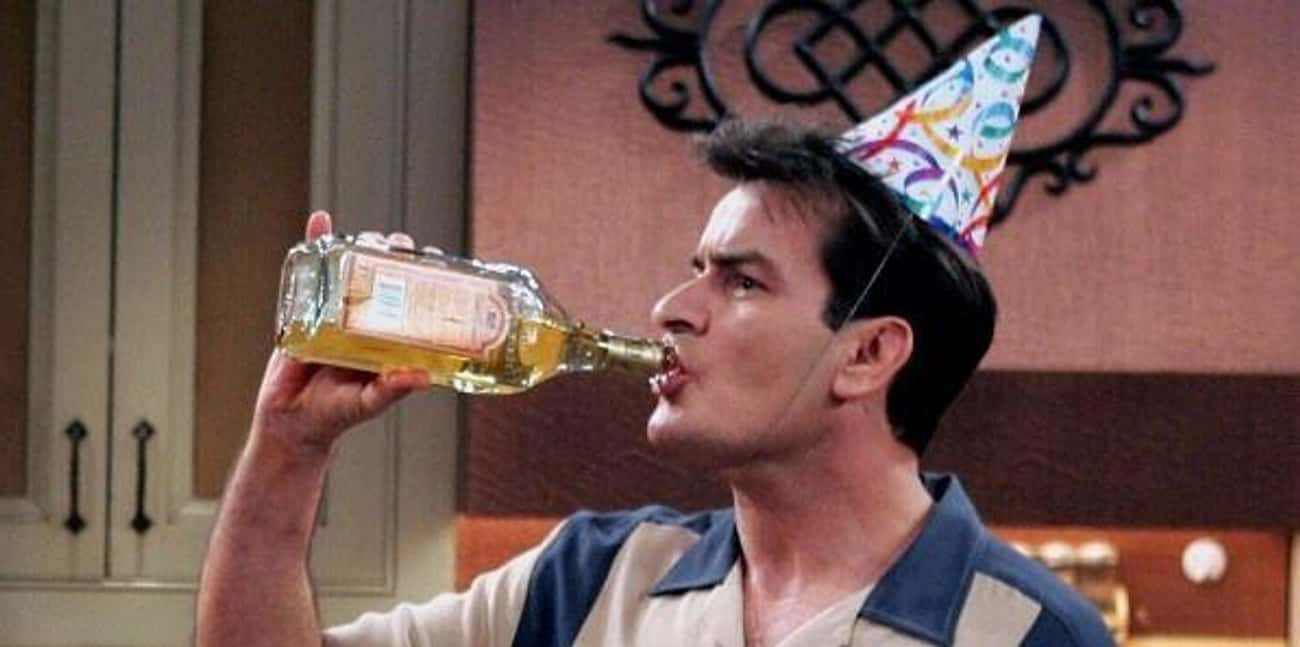 Charlie Harper In 'Two And A Half Men'