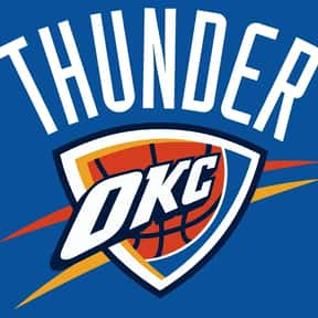 Oklahoma City Thunder is listed (or ranked) 18 on the list The Coolest Basketball Team Logos