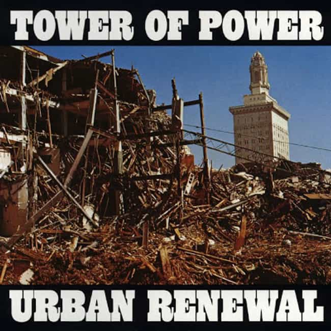 Urban Renewal is listed (or ranked) 3 on the list The Best Tower Of Power Albums of All Time