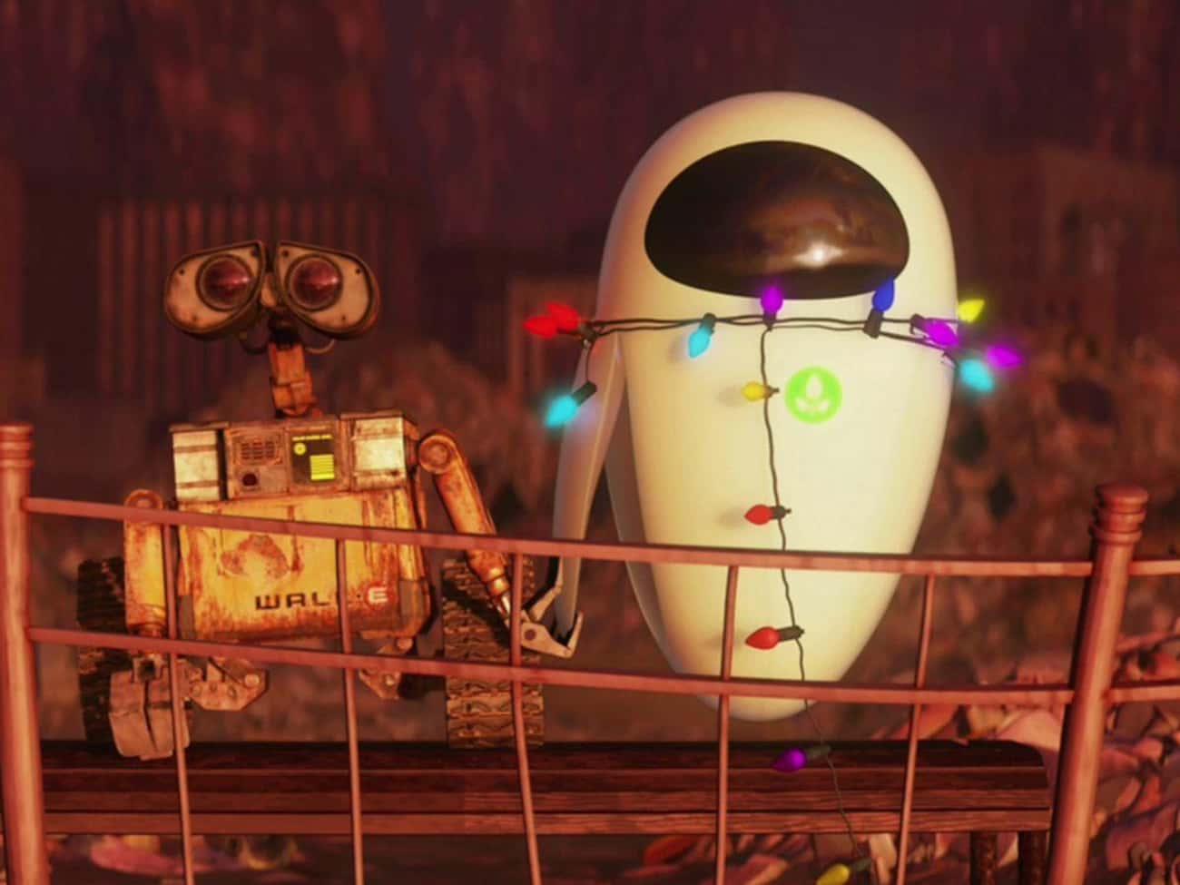 WALL-E is listed (or ranked) 2 on the list The Most Supportive Boyfriends In Science Fiction