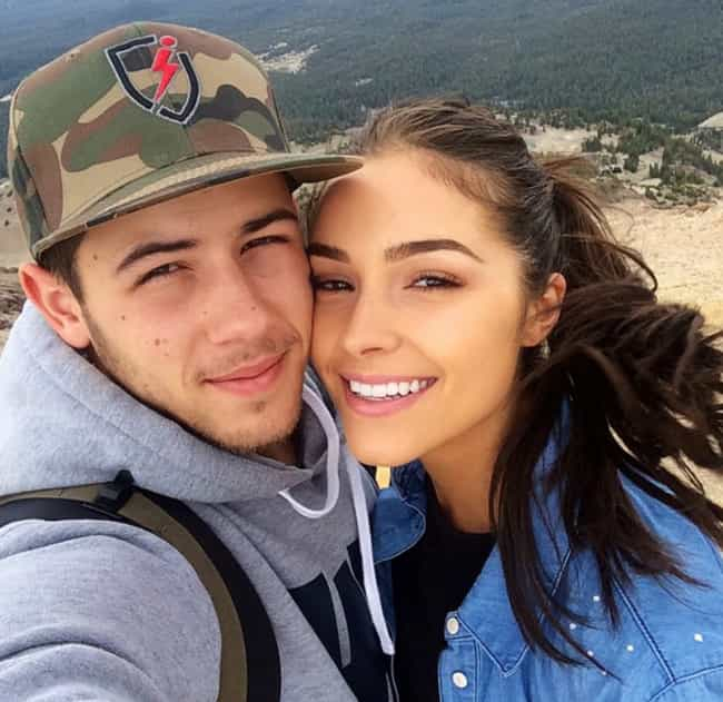 Nick Jonas is listed (or ranked) 3 on the list Olivia Culpo Loves and Hookups