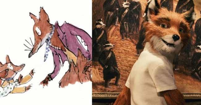 Mr. Fox is listed (or ranked) 3 on the list Roald Dahl Movie Characters Who Look Like You Want Them To