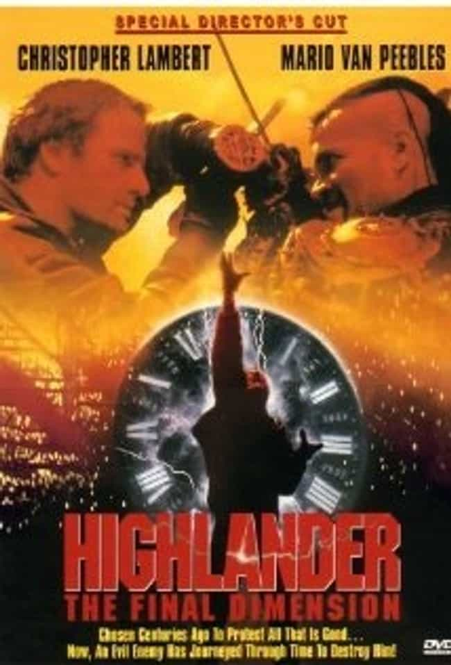 Highlander: The Final Dimensio... is listed (or ranked) 4 on the list The Best Movies (and TV Series) in the 'Highlander' Franchise, Ranked