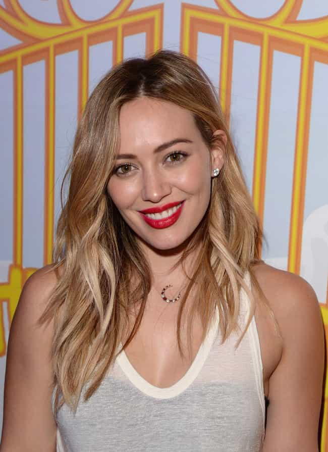 Hilary Duff is listed (or ranked) 1 on the list Celebrities You Could Actually Meet on Tinder