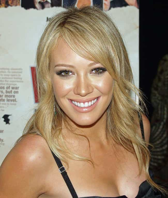 Hilary Duff is listed (or ranked) 8 on the list Famous Libra Celebrities