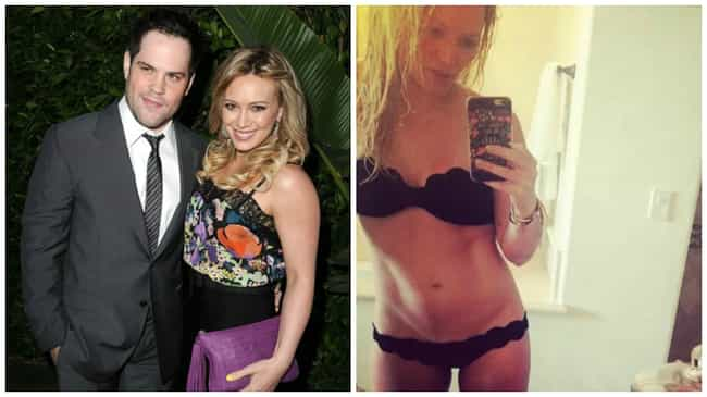 Hilary Duff is listed (or ranked) 7 on the list The Hottest Celebrity Breakovers