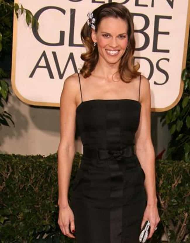 Hilary Swank is listed (or ranked) 3 on the list Female Celebs With The Best Arms