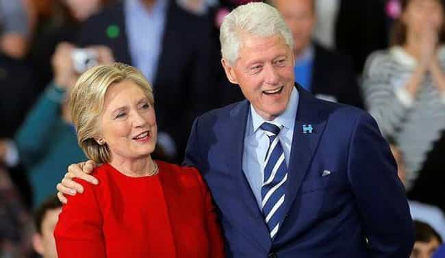 Hillary Clinton is listed (or ranked) 2 on the list 20 Celebrities Who Surprisingly Stayed With Their Partners After They Cheated