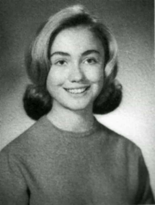 Hillary Clinton is listed (or ranked) 7 on the list 26 Celebrities Who Were Class President