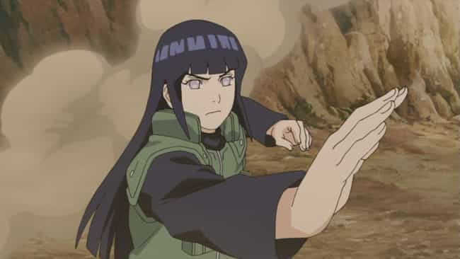 Hinata Hyuga is listed (or ranked) 4 on the list 15 Anime Characters Who Prove You Should Fear The Quiet Ones