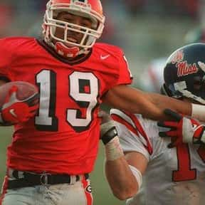 Hines Ward is listed (or ranked) 4 on the list The Best University of Georgia Football Players of All Time