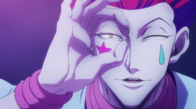 Hisoka is listed (or ranked) 1 on the list 13 Anime Clowns You Definitely Don't Want To Mess With