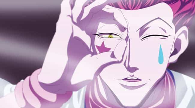 Hisoka is listed (or ranked) 1 on the list 14 Anime Villains That Deserve Their Own Series