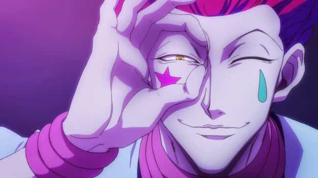 Hisoka is listed (or ranked) 1 on the list The 18 Greatest Shonen Anime Villains Of All Time