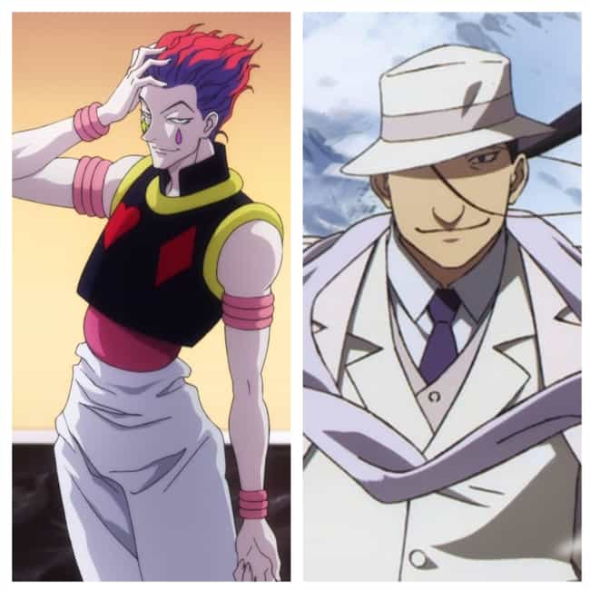 Hisoka is listed (or ranked) 4 on the list Anime Characters From Different Series Who Could Be Best Friends
