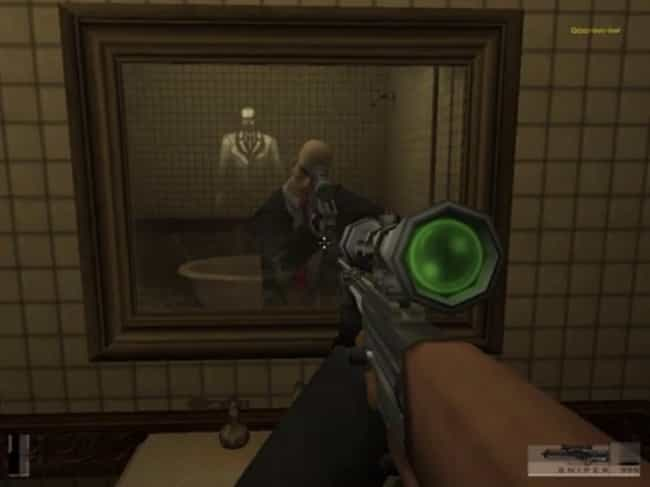 Hitman: Codename 47 is listed (or ranked) 4 on the list The Creepiest Easter Eggs In Video Game History