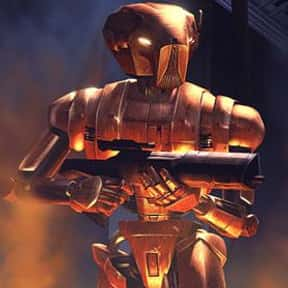 HK-47 is listed (or ranked) 2 on the list My Top 30 Star Wars Expanded Universe Characters