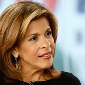 Hoda Kotb is listed (or ranked) 8 on the list The Most Trustworthy Newscasters on TV Today