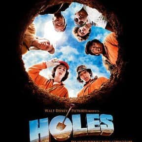 Holes is listed (or ranked) 11 on the list The Best Disney Live-Action Movies