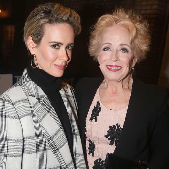 Holland Taylor is listed (or ranked) 1 on the list Sarah Paulson Loves and Hookups