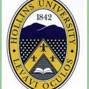 Hollins University is listed (or ranked) 5 on the list The Best Womens Colleges in the US