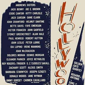 Hollywood Canteen is listed (or ranked) 22 on the list The Best Bette Davis Movies