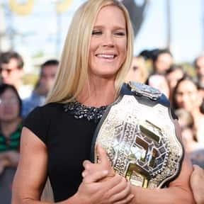 Holly Holm is listed (or ranked) 12 on the list Famous People From New Mexico