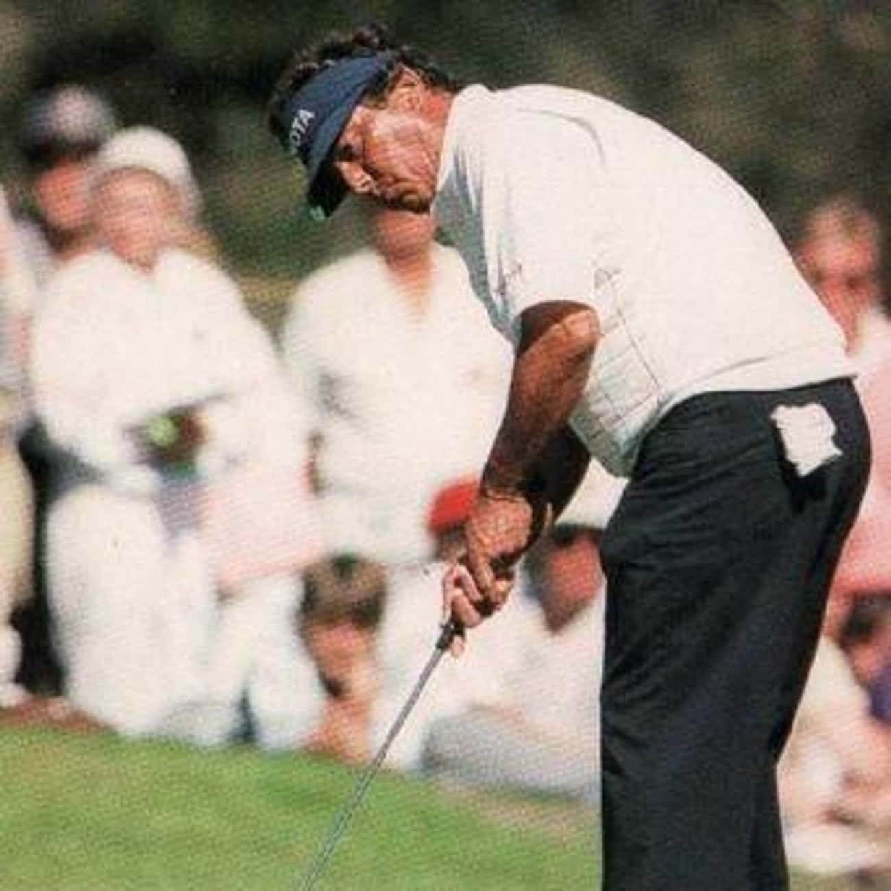 Homero Blancas is listed (or ranked) 4 on the list Famous Hispanic Golfers