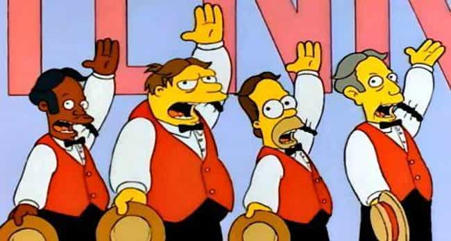 Homer's Barbershop Quartet is listed (or ranked) 4 on the list The Best Apu Episodes of 'The Simpsons'