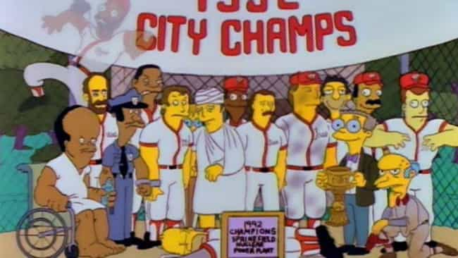 Homer at the Bat is listed (or ranked) 4 on the list The Best Mr. Burns Episodes of 'The Simpsons'