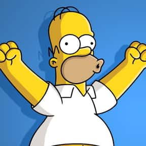 Homer Simpson is listed (or ranked) 15 on the list The Greatest Cartoon Characters in TV History