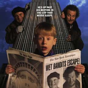 Home Alone 2: Lost in New York is listed (or ranked) 14 on the list The Greatest Kids Movies of the 1990s