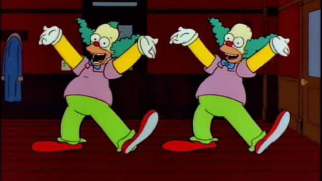 Homie the Clown is listed (or ranked) 4 on the list The Best Krusty Episodes of 'The Simpsons'