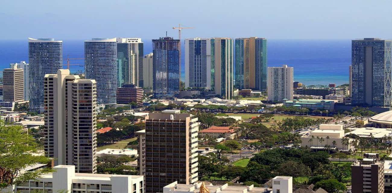 Honolulu, HI is listed (or ranked) 4 on the list The Most Beautiful Cities in the US