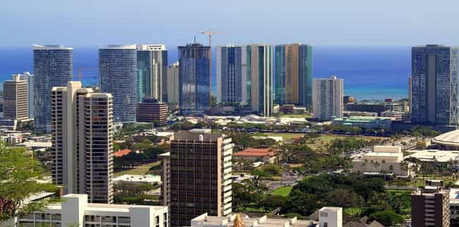 Honolulu is listed (or ranked) 4 on the list The Most Beautiful Cities in the US