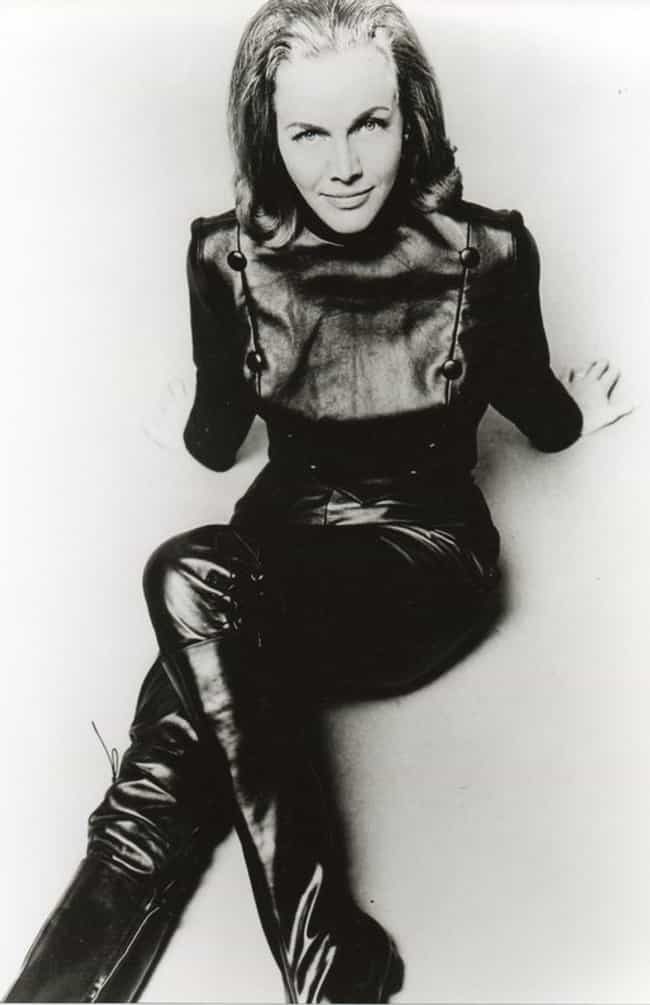 Honor Blackman is listed (or ranked) 4 on the list Catsuits