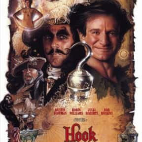 Hook is listed (or ranked) 8 on the list The Best Ever Robin Williams Movies