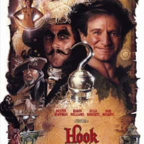 Hook is listed (or ranked) 7 on the list The Best Pirate Movies