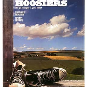 Hoosiers is listed (or ranked) 17 on the list The Best Movies About Underdogs