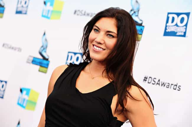 Hope Solo is listed (or ranked) 3 on the list Celebrities Who Have Had Miscarriages