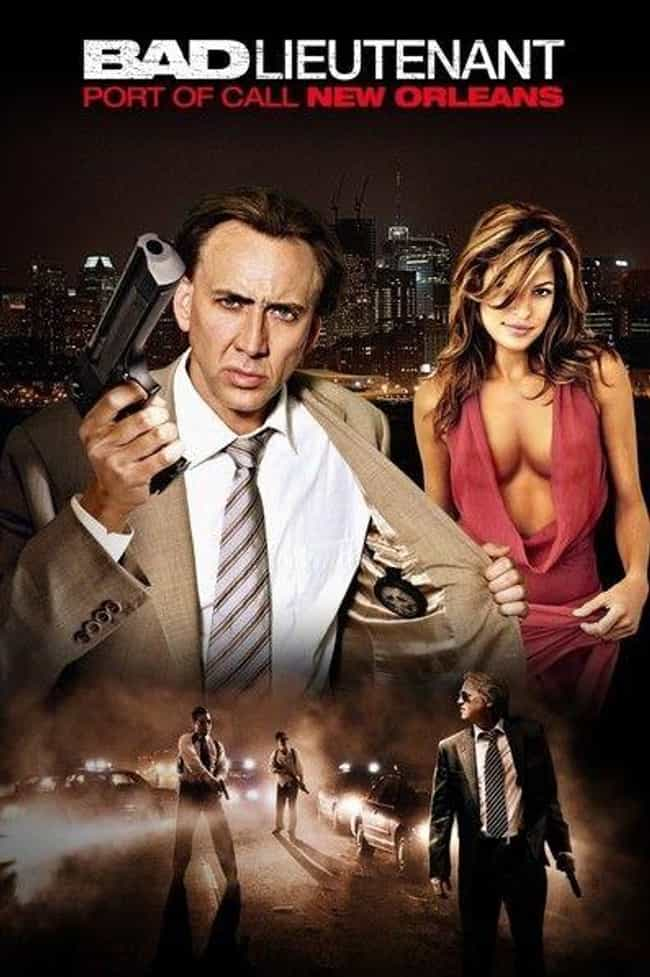 Bad Lieutenant: Port of Call N... is listed (or ranked) 5 on the list Movie Posters Where Actors Heads Are Clearly Photoshopped Onto Different Bodies